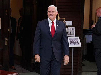 """VP Pence Weighs in on Sexual Harassment and the """"Pence Rule"""""""