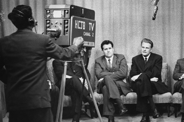 Radio, TV, Print, Shortwave, Satellite: Billy Graham Saw in Technology a Tool to Spread the Gospel