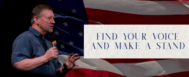 Find Your Voice and Make A Stand – Dutch Sheets