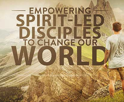 BEING LED AND EMPOWERED BY SPIRIT GOD – By Ron McGatlin