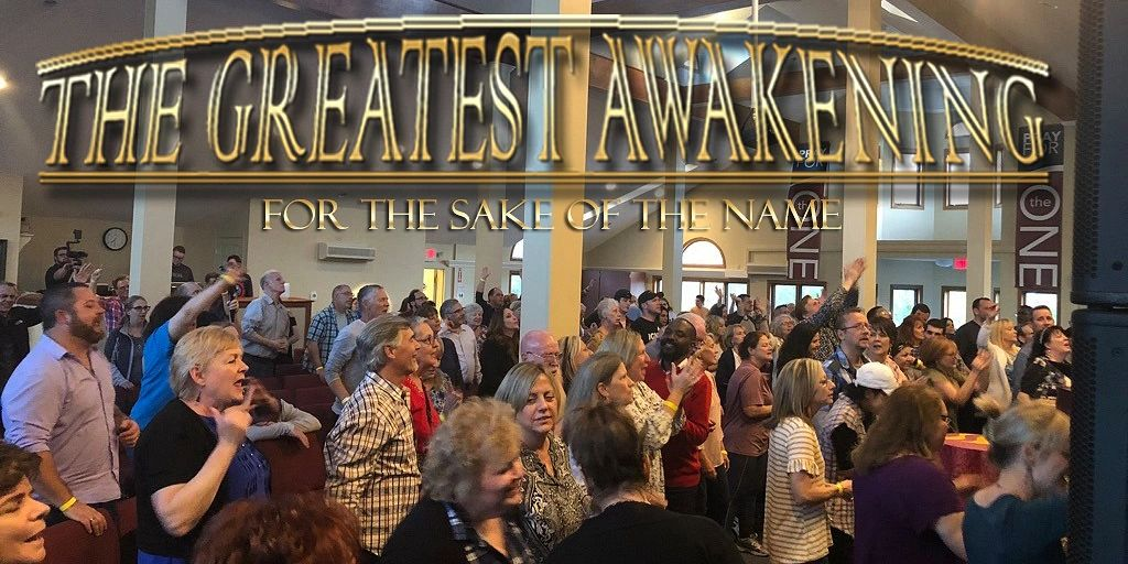 The Greatest Awakening Website is up   More are registered than theprevious conference already! – Danny Steyne