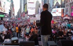 How God Showed Himself Strong in Times Square