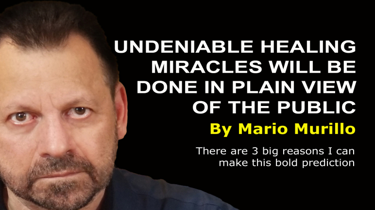 Undeniable healing miracles – Mario Murillo