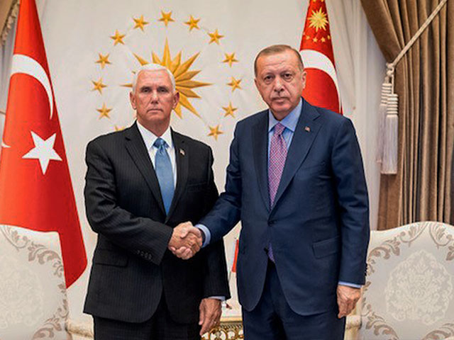 Vice President Pence Announces Ceasefire Agreement with Turkey in Syria