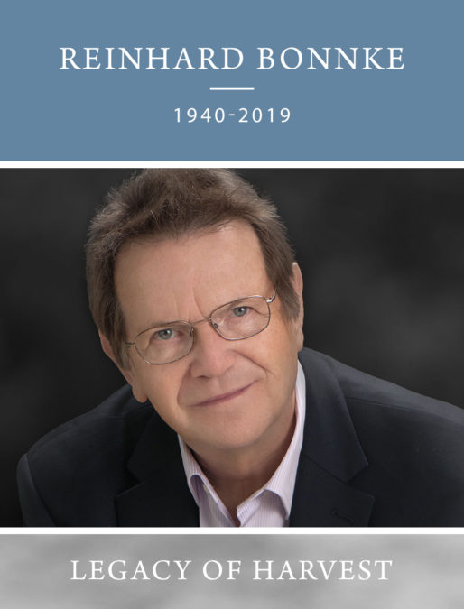 Home Going – Evangelist Reinhard Bonnke (1940 – 2019)