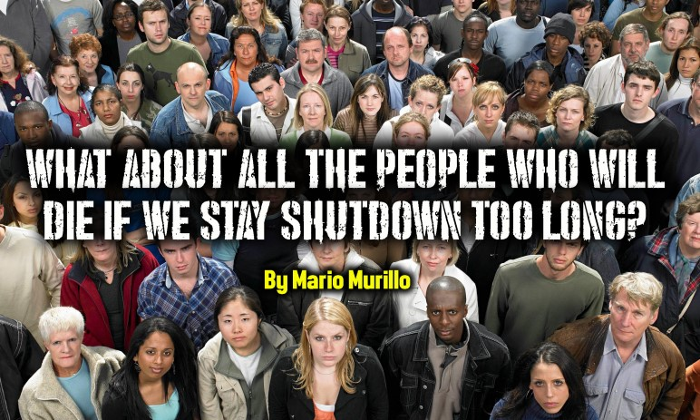 WHAT ABOUT EVERYONE ELSE WHO WILL DIE? – Mario Murillo