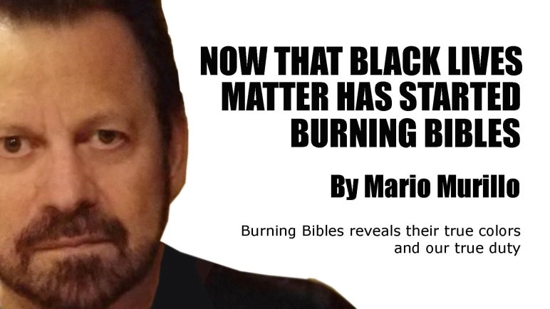 Burning Bibles in Portland Shows their true Colors – Mario Murillo