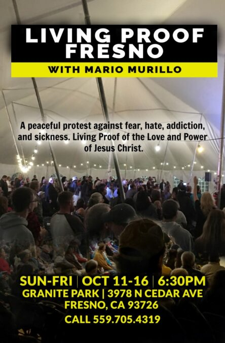 IT IS THE MOMENT I HAVE BEEN WAITING FOR. Tent Revival Re-Starting – Mario Murillo