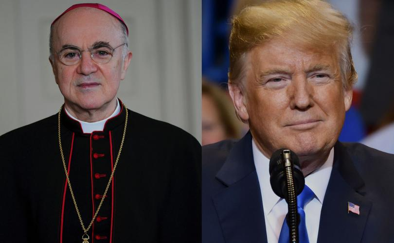 Abp. Viganò warns Trump about 'Great Reset' plot to 'subdue humanity,' destroy freedom