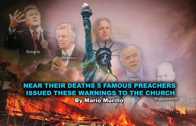 NEAR THEIR DEATHS THEY TRIED TO WARN US – Mario Murillo