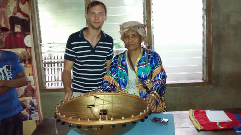 Dream led to stolen 'golden bowl' instrument and hidden tribe