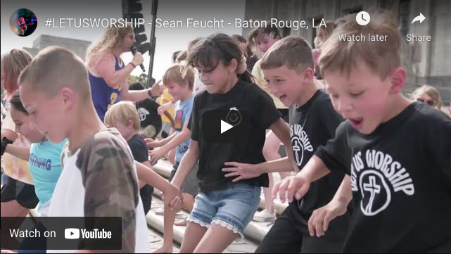 In Baton Rouge, we saw a powerful scene right out of Matthew 19:14 – Sean Feucht